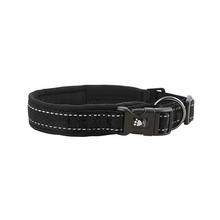 Hurtta Casual Padded Dog Collar - Raven