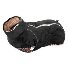 Hurtta Casual Quilted Dog Jacket - Raven