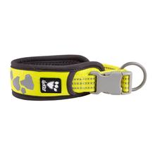 Hurtta Weekend Warrior Dog Collar - Neon Lemon