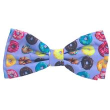 Huxley & Kent Dog and Cat Bow Tie Collar Attachment - Donut Lovers