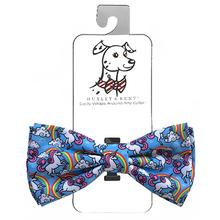 Huxley & Kent Dog and Cat Bow Tie Collar Attachment - Magic Unicorn