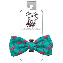 Huxley & Kent Dog Bow Tie Collar Attachment - Flamingo