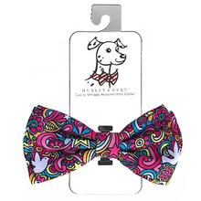 Huxley & Kent Dog Bow Tie Collar Attachment - Pop Art