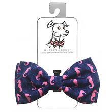 Huxley & Kent Dog Bow Tie Collar Attachment - Seahorse