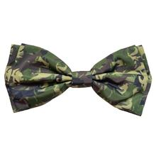Huxley & Kent Dog and Cat Bow Tie Collar Attachment - Camo Dogs Green
