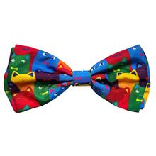 Huxley & Kent Dog and Cat Bow Tie Collar Attachment - Crazy Cats