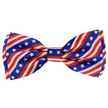 Huxley & Kent Dog and Cat Bow Tie Collar Attachment - Stars and Stripes