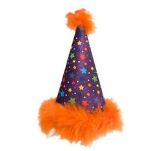 Huxley & Kent Dog Party Hat  - Circus Stars