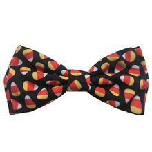 Huxley & Kent Halloween Dog Bow Tie Collar Attachment - Candy Corn
