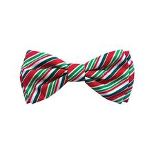 Huxley & Kent Holiday Pet Bow Tie Collar Attachment - Candy Cane