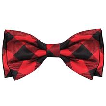 Huxley & Kent Holiday Pet Bow Tie - Buffalo Check