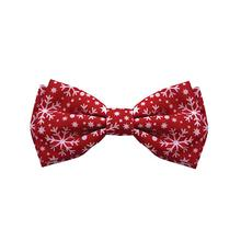 Huxley & Kent Holiday Pet Bow Tie - Snowflake