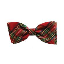 Huxley & Kent Holiday Dog Bow Tie - Red Plaid