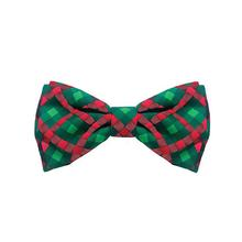 Huxley & Kent Holiday Pet Bow Tie - Scottish Check