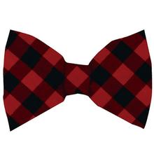 Huxley & Kent Holiday Dog Bow Tie - Buffalo Check