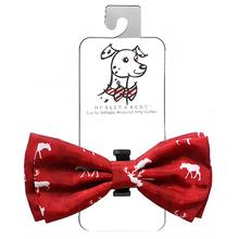 Huxley & Kent Holiday Dog Bow Tie - Moose