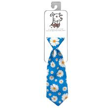 Huxley & Kent Long Tie Collar Attachment Dog Necktie - Flower Child