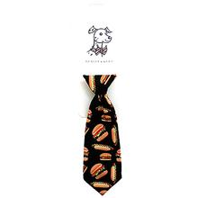 Huxley & Kent Long Tie Collar Attachment Dog Necktie - Fun Buns