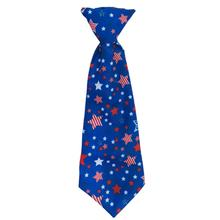 Huxley & Kent Long Tie Collar Attachment Dog Necktie - Boston Pops