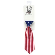 Huxley & Kent Long Tie Collar Attachment Dog Necktie - Liberty