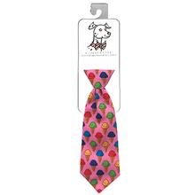 Huxley & Kent Long Tie Collar Attachment Dog Necktie - Single Scoop