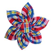 Huxley & Kent Pinwheel Dog Collar Attachment - Preppy Plaid