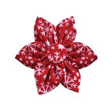 Huxley & Kent Pinwheel Holiday Dog and Cat Collar Attachment - Snowflake