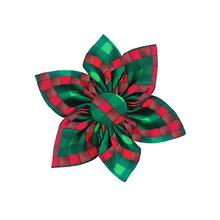 Huxley & Kent Pinwheel Holiday Dog Collar Attachment - Scottish Check