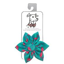 Huxley & Kent Pinwheel Pet Collar Attachment - Flamingo