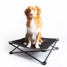 Hyper Pet Home and Away Elevated Dog Bed - Black