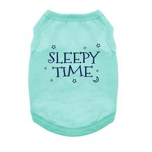Sleepy Time Dog Shirt - Aqua