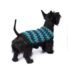 Night Waves Alpaca Dog Sweater by Alqo Wasi