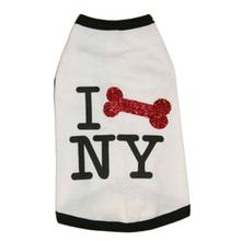 I Bone NY Dog Shirt by Ruffluv NYC