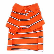 Ian Polo Dog Shirt - Orange