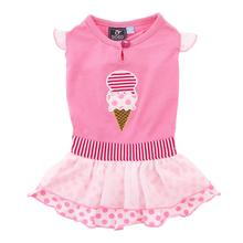 Ice Cream Dog Dress by Dogo - Pink