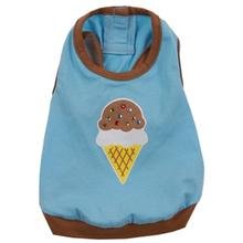 Ice Cream Dog Tank - Blue