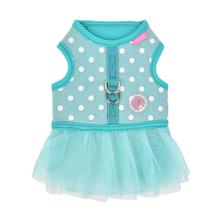 Ida Flirt Dog Harness Dress by Pinkaholic - Mint