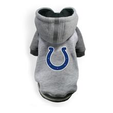 Indianapolis Colts NFL Dog Hoodie - Gray