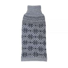 Snowfall Alpaca Dog Sweater by Alqo Wasi - Gray