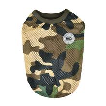 Infantry Dog Shirt by Puppia - Green Camo