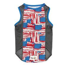 Insect Shield Patriotic Mesh Dog Tank
