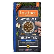 Instinct Raw Boost Grain-Free Recipe Senior Dog Food - Real Chicken