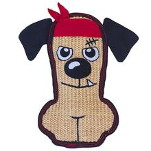 Invincibles Sisal Tough Seamz Dog toy - Bandanna Dog