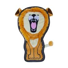 Invincibles Tough Seamz Dog Toy - Lion