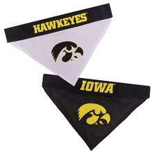 Iowa Hawkeyes Reversible Dog Bandana Collar Slider