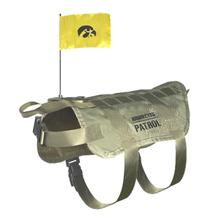 Iowa Hawkeyes Tactical Vest Dog Harness