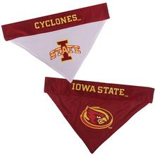 Iowa State Cyclones Reversible Dog Bandana Collar Slider