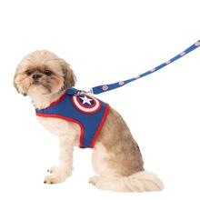 Marvel Captain America Dog Harness and Leash Set