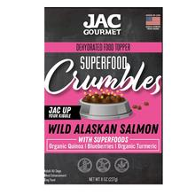 JAC Pet Nutrition Superfood Crumbles Dog Food Topper - Wild Alaskan Salmon