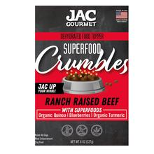 JAC Pet Nutrition Superfood Crumbles Dog Food Topper - Ranch Raise Beef